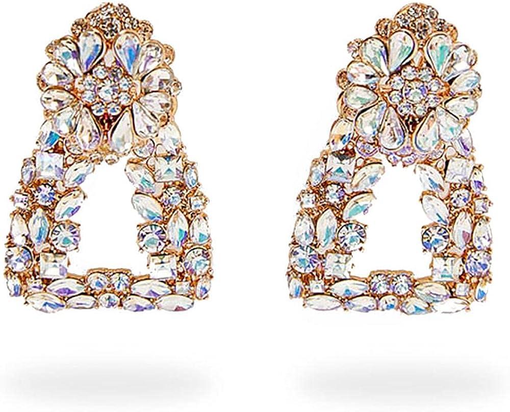 Cuff Earringsgeometric Alloy Diamond Earrings Earrings