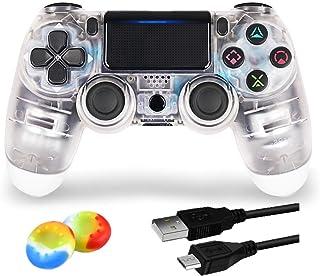 Contrôleur sans fil Bluetooth pour PlayStation 4 Joystick pour manette de jeu avec câble USB pour PS4/Windows/Android/iOS,...