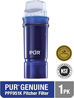 PUR PPF951K1 Tray Ultimate Lead Reduction Pitcher Replacement Filter One Pack, 1 pack