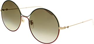 GG0395S Sophisticated 80's Oversize Round Metal Sunglasses 58mm