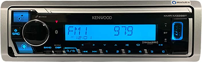Kenwood KMR-M328BT Marine Digital Media Receiver with...