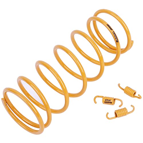 Glixal ATKS-03905 High Performance Racing Moped ATV Scooter Torque Spring with Clutch Springs for