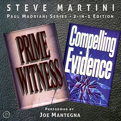 Compelling Evidence & Prime Witness audiobook cover art