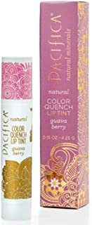 Pacifica Perfumes Inc, Natural Color Quench Lip Tint, Guava Berry, 0.15 oz (4.25 g)