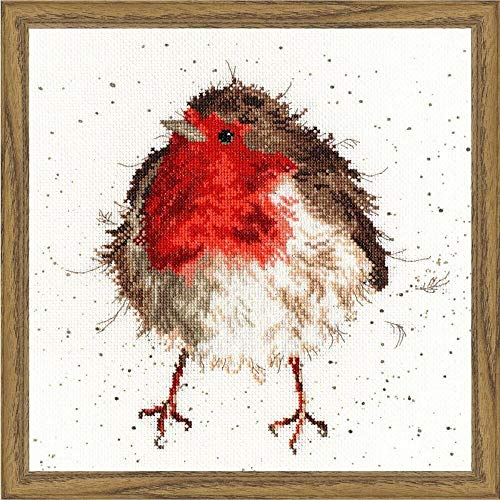 Jolly Robin - Bothy Threads Counted Cross Stitch Kit by Wrendale Designs by Bothy Threads
