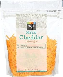 365 Everyday Value, Mild Cheddar Shred, 12 oz