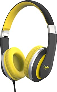 Elecder i41 Kids Headphones, Headphones for Kids Children Girls Boys Teens Foldable Adjustable On Ear Headphones with 3.5mm Jack for iPad Cellphones Computer MP3/4 Kindle Airplane School(Yellow/Black)