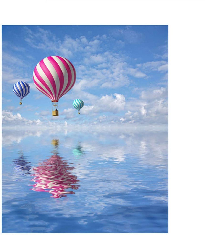Waofe  Rahmen Bild Romantische Romantische Romantische Ballon Diy Malen Nach Nummer Handgemalte Ölgemälde Für Wohnkultur Einzigartige 40X50 Cm Kunstwerk B07PQ19TXQ | Ausgezeichnete Leistung  6e6acd
