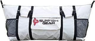 "Sunfish Gear The Fathom - Fish Kill Bag - 72"" x 30"" - Sportfishing and Deep Sea Fishing Bag - Compact Insulated Vinyl Storage for Tuna, Mahi Mahi, Marlin and Large Fish"