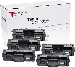 Tonersave Compatible Sumsung D116L MLT-D116L Toner for Samsung M2885FW Toner SL-2875FW SL-2875 SL-2875 SL-2676 SL-2835 SL-M2625 SL-M2625D SL-2626 SL-2825 5 Pack
