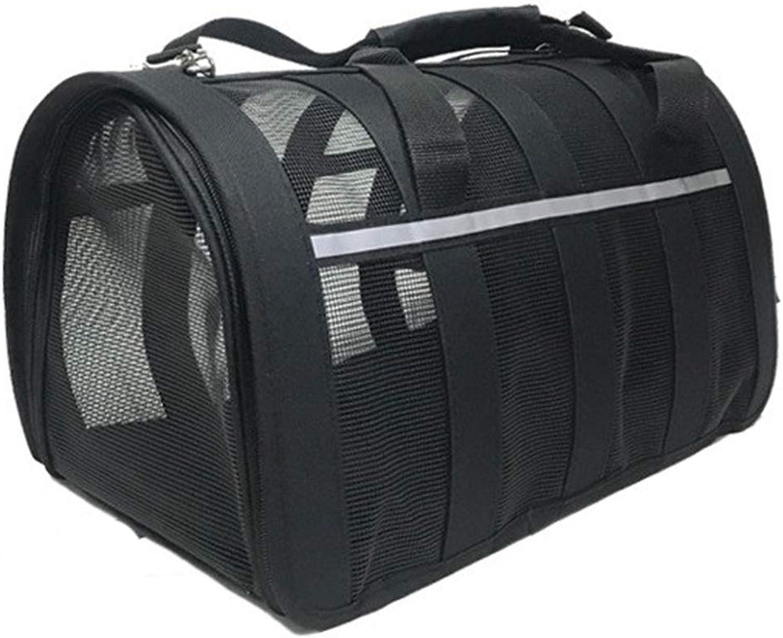 Pet Cat bag out portable pet Breathable backpack out shoulder ventilation bag dog carrying portable Crossbody bag