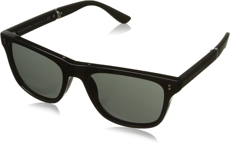Burberry Women's BE420430015V55 Black Sunglasses