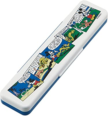 スケーター コンビセット 箸 スプーン セット ミッキー レトロコミック ディズニー 日本製 CCS3SA 18cm