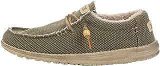 Dude Zapatos Hey Hombre Forro de Piel Wally Natural Chalet Caqui
