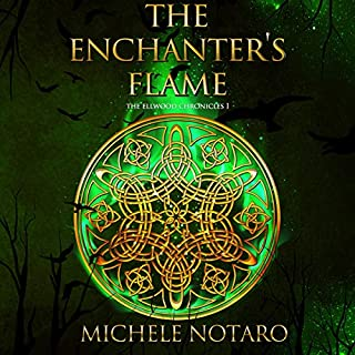The Enchanter's Flame     The Ellwood Chronicles, Book I              By:                                                                                                                                 Michele Notaro                               Narrated by:                                                                                                                                 Kenneth Obi                      Length: 9 hrs and 11 mins     128 ratings     Overall 4.0