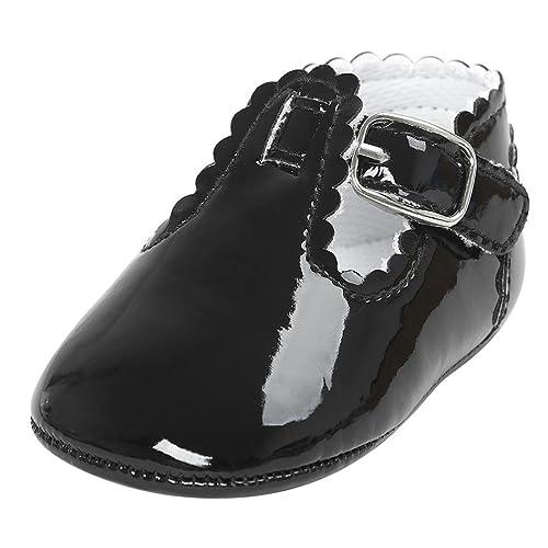 7ceb17b1e Fossen Zapatos Bebe Antideslizante Suela Blanda Primeros Pasos para Recién  Nacido Niña Niño