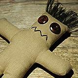 Darko Doll raw - Muñeca vudú con aguja e instrucciones de rituales (idioma español no garantizado)