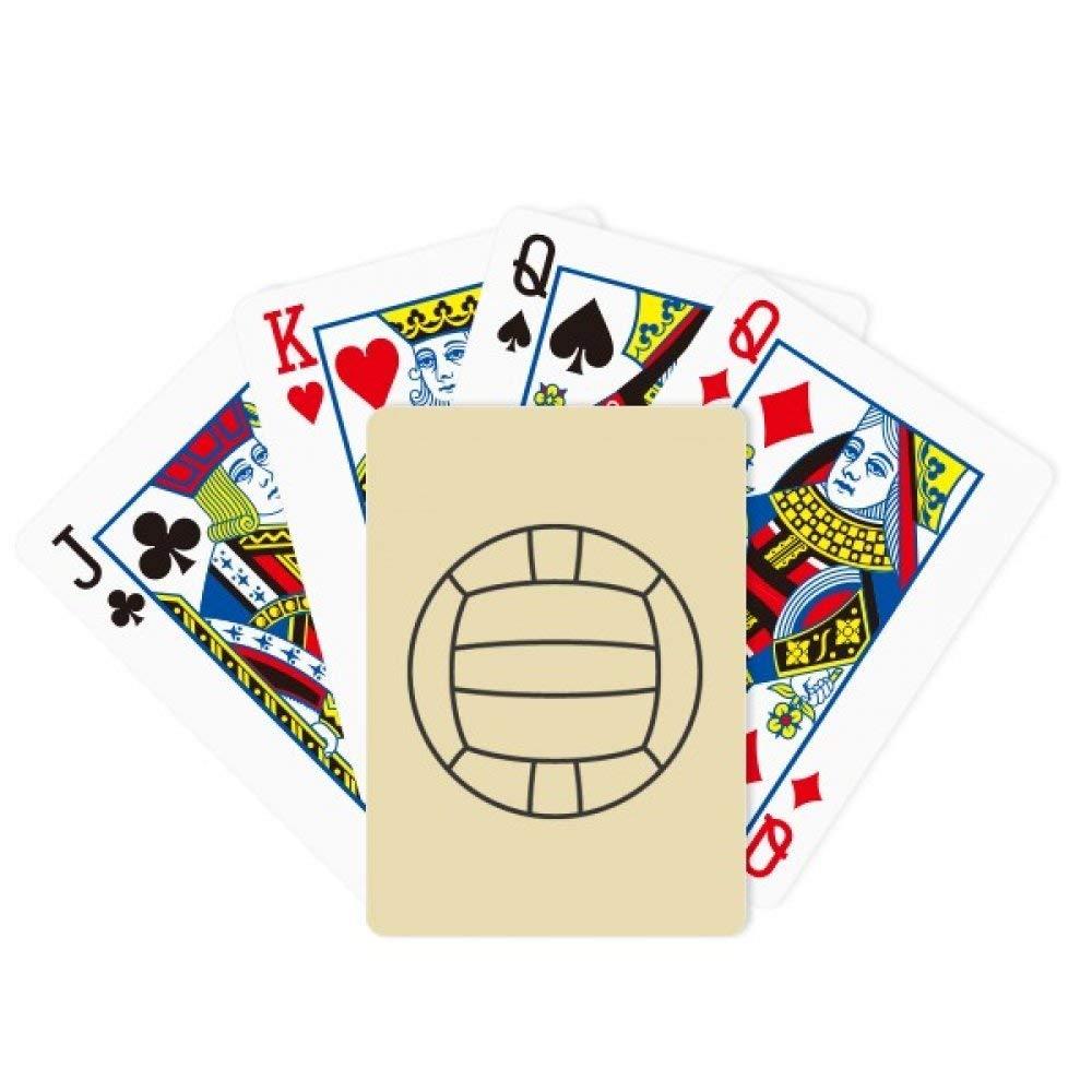 DIYthinker - Juego de Cartas de Voleibol para Jugar a póquer, Juego de Mesa: Amazon.es: Deportes y aire libre