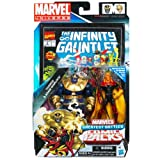 Marvel Universe Thanos and Adam Warlock Figure Comic Pack 4 Inches