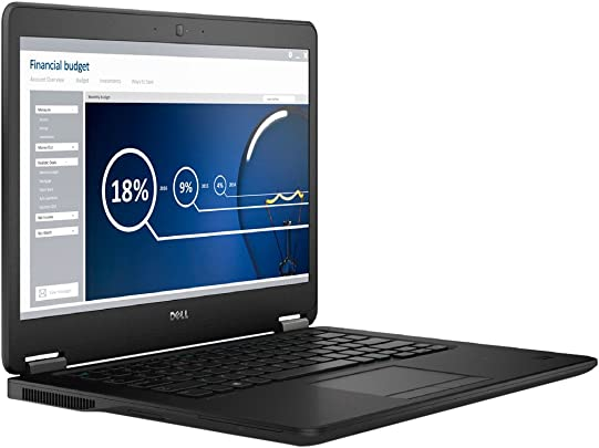 Dell 7450-0057 LATITUDE E7450-0057 35 56 cm  14 0 Zoll  Laptop  Intel Core I7-5600U  2 6GHz  8GB RAM  256GB HDD  Win Professional  schwarz