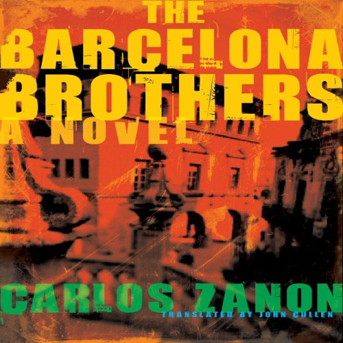 The Barcelona Brothers audiobook cover art