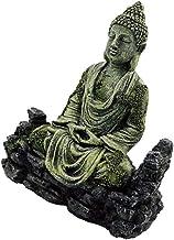 Prettyia Aquarium Decorations, Chinese Buddha Statue Figurine, Resin Aquarium Ornament Decorations for Fish Tank Decorations