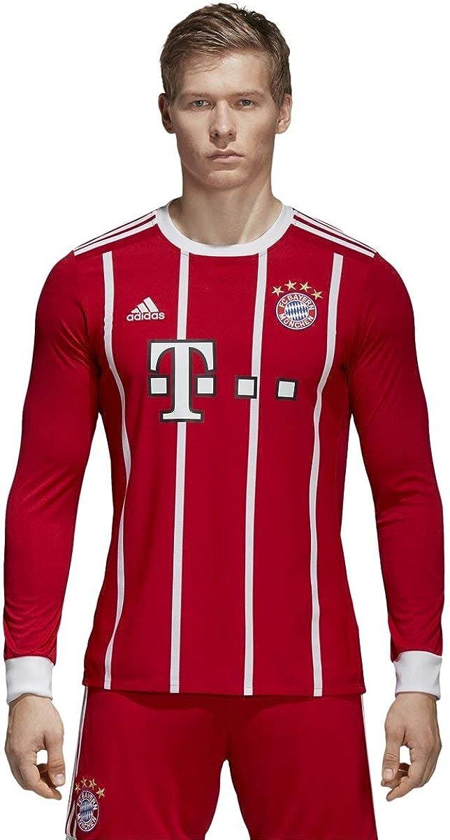 adidas FC Bayern Munich Home Long Sleeve Jersey [FCBTRU]