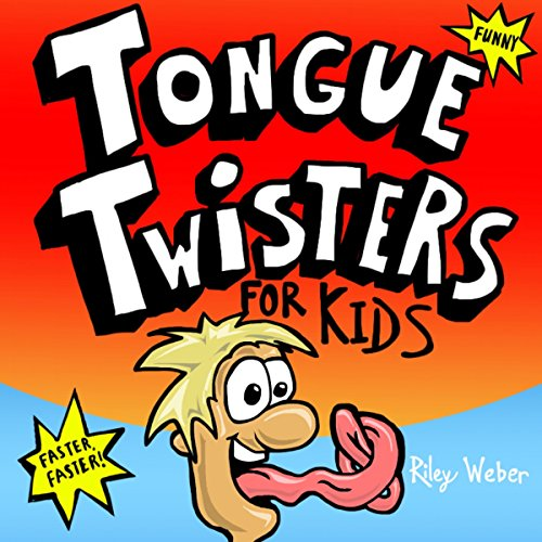 Tongue Twisters for Kids audiobook cover art