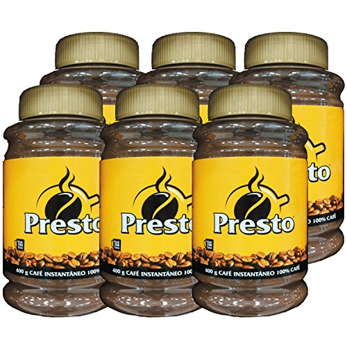 Cafe Presto Instantaneo - Instant Coffee (400g) 6 Pack