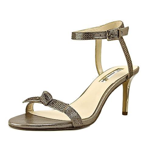 INC International Concepts Womens Laniah Evening Sandals Light Bronze