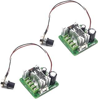 RioRand Upgraded 6V-90V 15A DC Motor Pump Speed Controller 2PCS