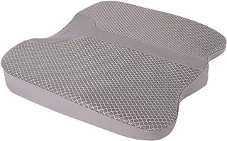Livtribe Kingleting - Cojín de asiento de espuma viscoelástica antideslizante y transpirable, para el hogar, sillas de oficina, sillas de ruedas y más (gris)