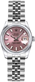 Rolex Lady-Datejust 26 179160 Pink Dial on Jubilee Bracelet Luxury Watch