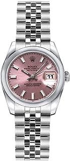Rolex Lady-Datejust 26 179160 Pink Dial on Jubilee Bracelet Luxury Watch