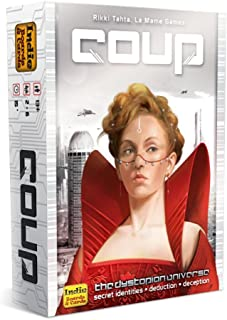 Indie Boards and cards Coup the Dystopian Universe, Multi Color