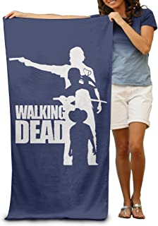 LCYC Walking Poster Dead Adult Cartoon Beach Or Pool Bath Towel 80cm*130cm