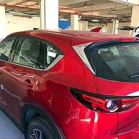 Für Cx 5 Cx5 2017 2020 Unterfahrschutz Und Heck Unterfahrschutz In Silber Edelstahl 2 Stück Auto
