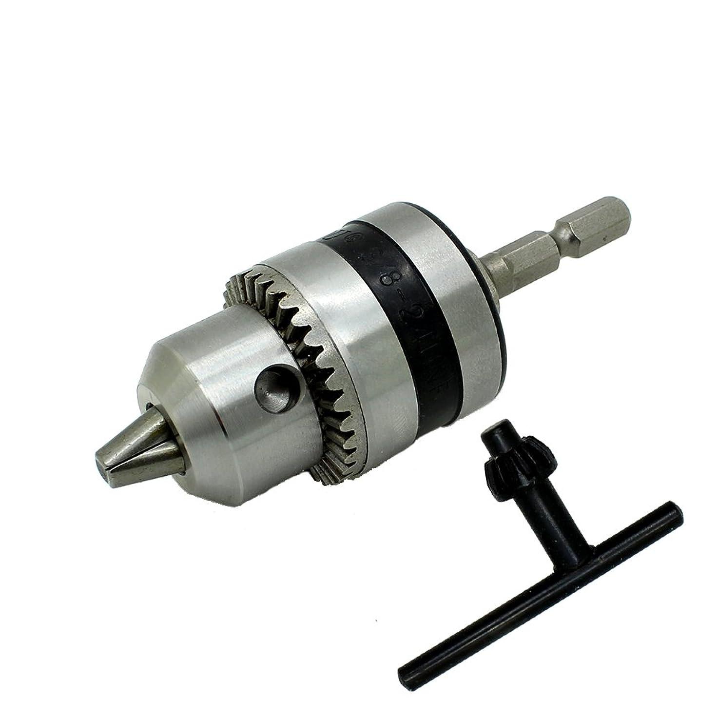 管理します暗黙不適AUTOTOOLHOME 電動 ロータリーハンマードリルチャック電動工具アクセサリーキャップ 1.5-10mm マウント3/8