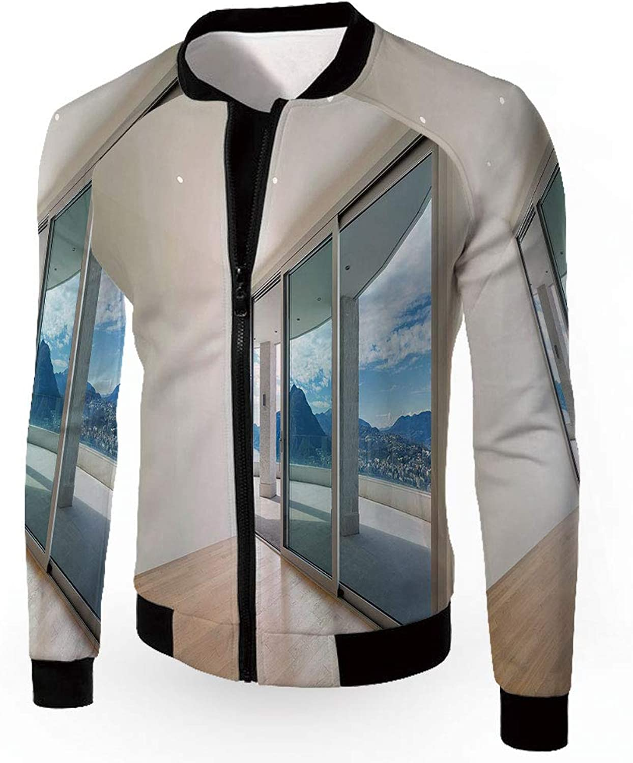 IPrint Bomber Jacket,Modern Decor,Military Patch Light Weight Bomber Jacket,Home Patio