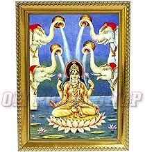 Om Pooja Shop Kamala Devi Dasa Mahavidyas Photo in Wooden Frame