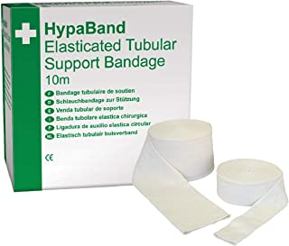 Safety First Aid Group HypaBand 10 M Tubular Bandage Size D (Supports Arms and Legs)
