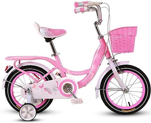 más descuento Axdwfd Axdwfd Axdwfd Infantiles Bicicletas Bicicleta para Niños, Rueda de Entrenamiento para Bicicletas para Niños Bicicleta de Niños y niñas de 12 14 16 18 Pulgadas, Apta para Niños de 5 a 9 años de Edad, púrpuraa  suministramos lo mejor