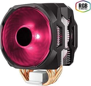 Cooler Master MasterAir MA610P RGB - Ventiladores de CPU '6 Heatpipes, 2 x MasterFan AB 120 RGB Ventiladores, LED RGB' MAP-T6PN-218PC-R1