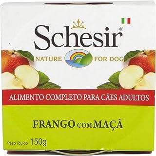 Schesir Comida de Perro con Pollo y Manzana - 150 gr