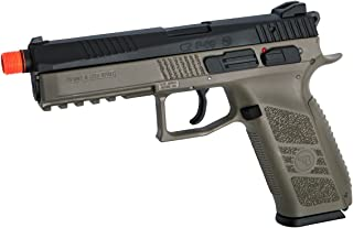 ASG CZ P-09 Gas Powered Airsoft Pistol with Outer Barrel Threading