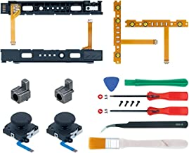 Mcbazel 18 in 1 Replacement Repair Kit for NS Switch Joy-Con with Screwdrivers Opening Tool, 3D Left Right Analog Joystick...