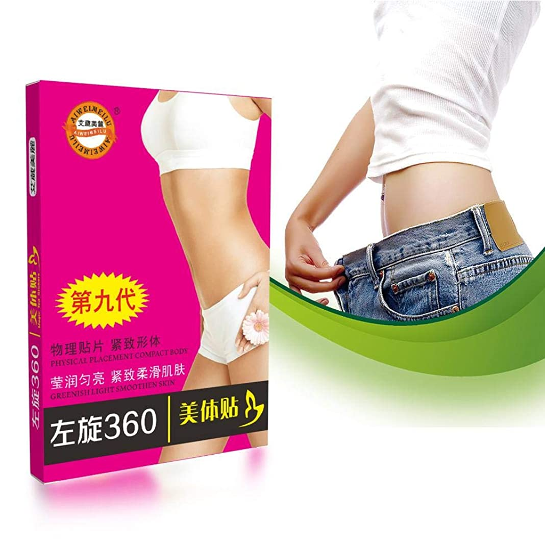 メーカー織機増強ダイエットステッカー 腹部フラッグステッカー 女性と男性用