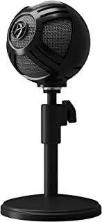 Arozzi Sfera USB Microphone for Gaming & Streaming, Black