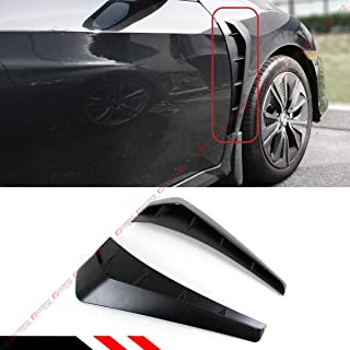 Cuztom Tuning Fits for 2016-2019 Honda Civic FK8 Type-R Style V2 Add-on Front Fender Side Vent Cover
