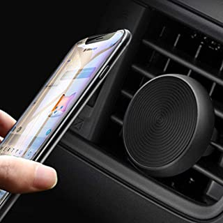 Manords Magnetic Air Vent Car Phone Mount, Universal Stylish Car Cell Phone Holder Compatible for iPhone XsMax Xs X 8 Plus 7 Samsung Galaxy S9 S8 Edge S7 Note 9 and More